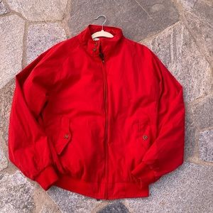 Orvis men's size large red jacket